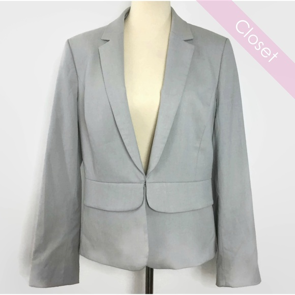 ANTONIO MELANI Jackets & Blazers - Antonio Melani Light Gray Spring/Summer Blazer